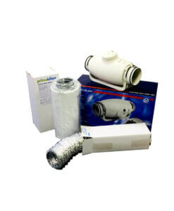 Luksus Ventilations Kits S&P TD Silent
