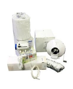 Luksus Ventilation Kit Med GSE kontroller