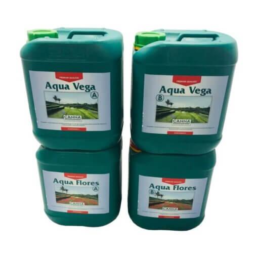 Canna Aqua Vega & flores A&B 10L