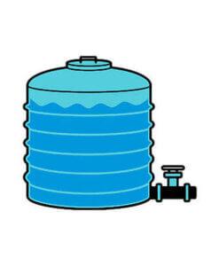 Vandtank